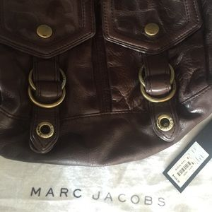 Marc Jacobs Chocolate Leather  Bag