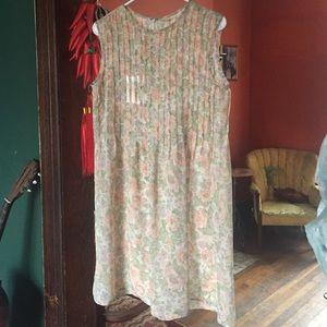 Vintage Floral 90's Dress