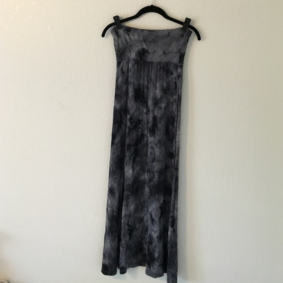 87 quiksilver dresses skirts grey and black maxi