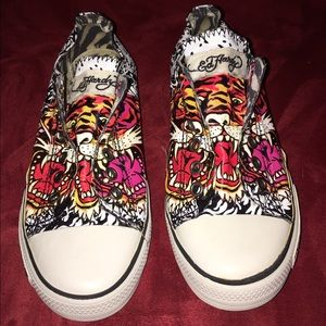 3eeed7a618 Ed Hardy Shoes - PRICE DROP  24 DON ED HARDY SNEAKERS