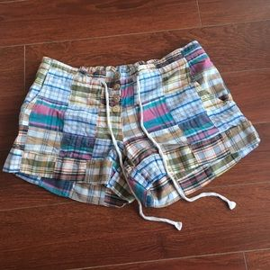 Urban Outfitters size 6 patchwork button up shorts