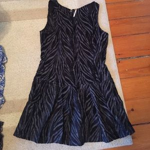 Beautiful grey and black free people dress