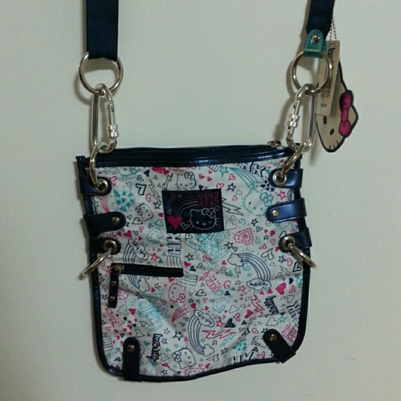 8ffd18ee8bfb Hot Topic Handbags - NWT Hello Kitty Crossbody Bag from Hot Topic