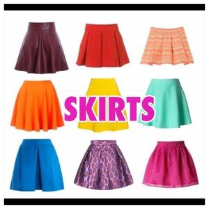 Dresses & Skirts - The following listings are SKIRTS