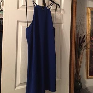 Cobalt blue dress with tags