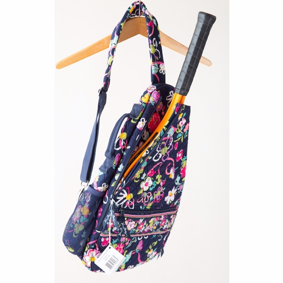 52f3e776df0 Vera Bradley Bags   Ribbons Sling Tennis Backpack   Poshmark