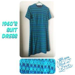 Vintage 60's Suit Dress‼️