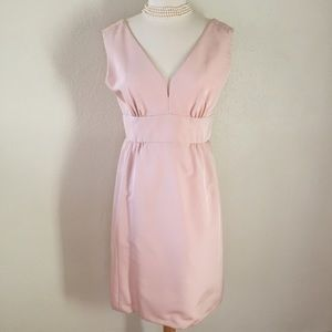 Vintage blush pink dress w/without matching coat