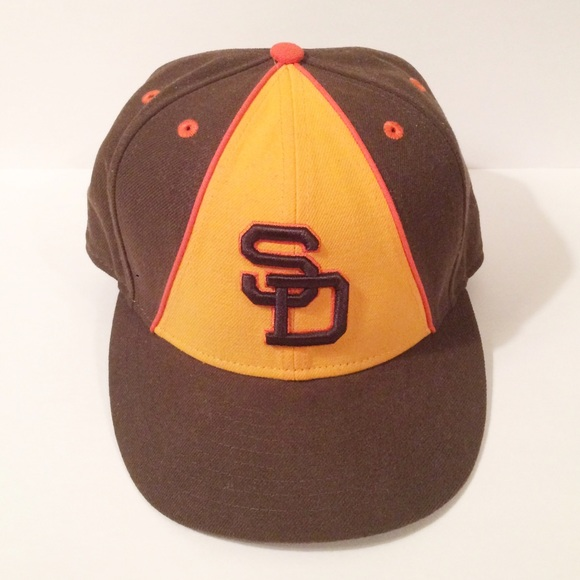 new product d8403 2b527 San Diego Padres Turn Back the Clock Cap. M 570ef2c5291a35bf6d0083ea