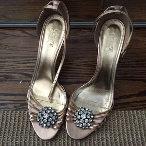 J.Crew Collection kitten heels