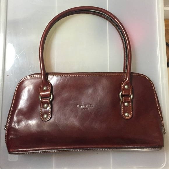 bff6fdbfd021 Barberini s Firenze Handbags - Authentic Barberini s Firenze Brown Leather  Bag