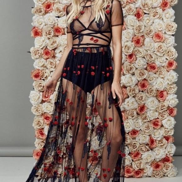 41eb3ceb81 For Love and Lemons Dresses   Iso Fll Cactus Maxi Dress Xs   Poshmark