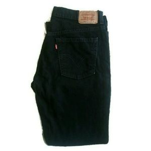 Levi's Denim - Black Levi's Nouveau boot cut 515