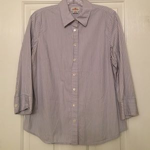 JCrew Stripe Shirt - Blue