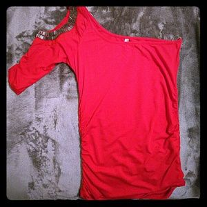 Tops - Red Party Top