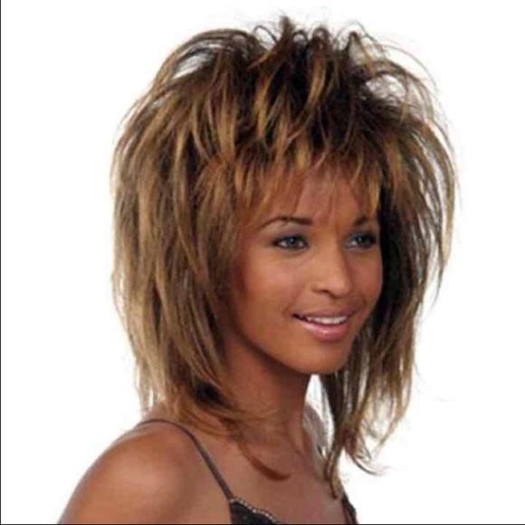 Sepia Wigs Accessories Nwt Tina Turner Costume Wig Poshmark