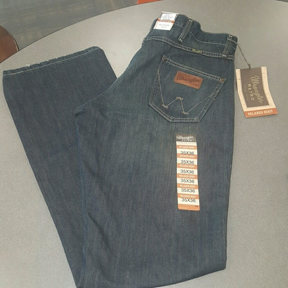 47% off Wrangler Other - Men&39s Wranglers relaxed bootcut jeans 35