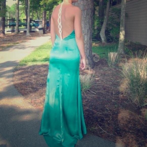 Paris prom Dresses | Kelly Green Prom Dress | Poshmark