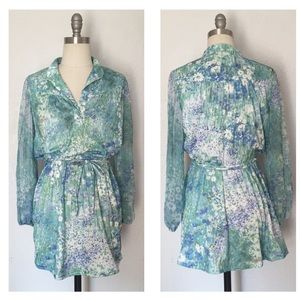 Vintage 70's Secretary Dress Mini