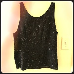 Talbots Tops - MOVING SALE! Stunning sequined top!