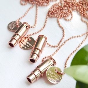 ☆ Rose Gold Necklace