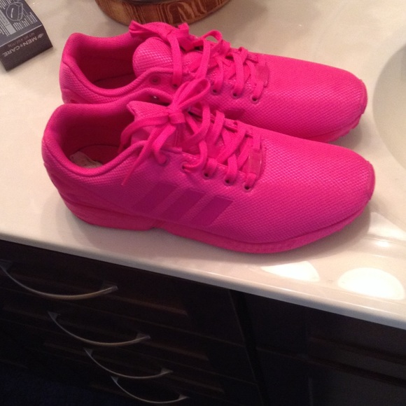 58 adidas shoes all pink adidas zx flux from zo 235 s