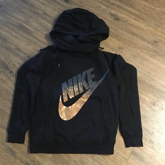 Nike Tops Hoodie Rose Gold Sz S Pants Sz S Poshmark