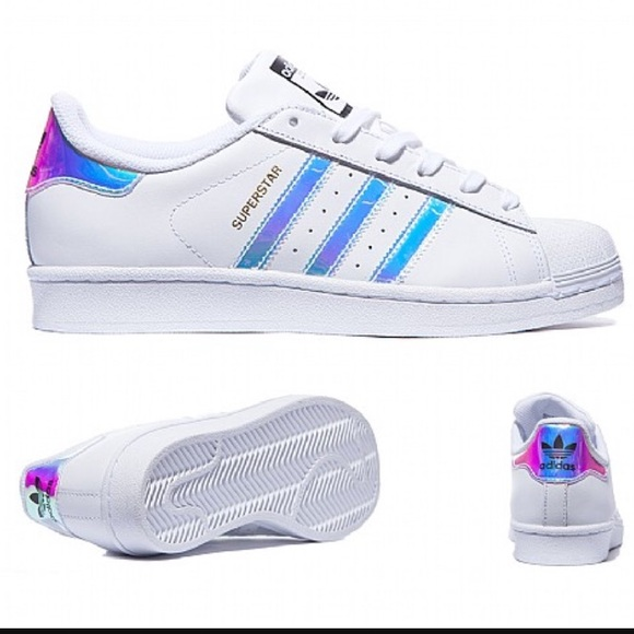 Last Adidas Superstars Metallic Iridescent Stripes
