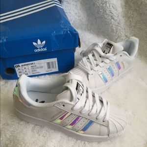 3b08c77ab69 norway adidas superstar rainbow holographic a3faa 784e5