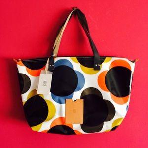 Orla Keily Handbags - Orla Kiely Giant Flower Spot zip shopper