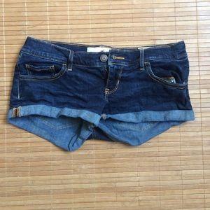 "Hollister 3"" denim shorts"