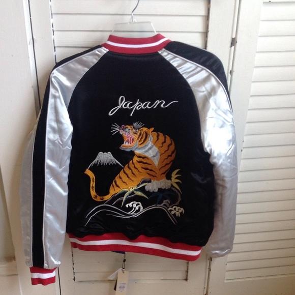 Topshop Jackets & Coats - Topshop Bomber Jacket size 8