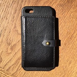 madewell iphone case madewell accessories iphone 55s black leather 8775