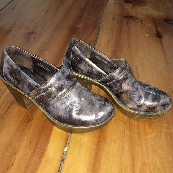 688485670b6c35 Born Shoes - Size 8 Born brand style clog. EUC (barely used)