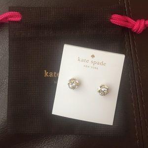 Kate spade new lady marmalade studs earrings