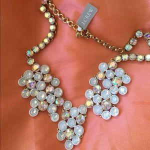 J. Crew Jewelry - ‼️ LAST ONE ‼️CREW Crystal Chandelier Necklace 💕