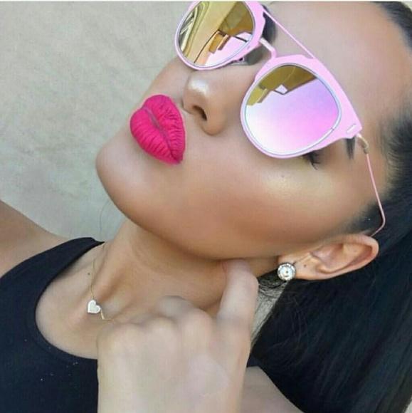 PUDAIER Waterproof Nude Matte Velvet Glossy Lip Gloss