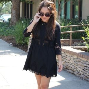 Relished Dresses & Skirts - Lace Black Dress