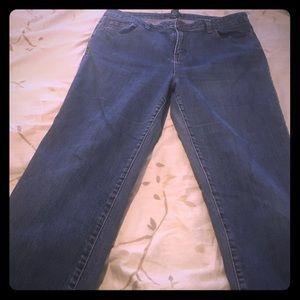 Petite Sophisticate Denim - Cute jeans size 14 average