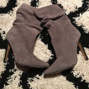 Aldo Grey ankle booties