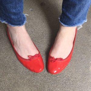 c0d07001c Repetto Shoes | Paris Red Patent Leather Ballet Flats | Poshmark