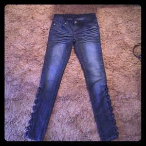 black crystal jeans dark blue jeans authentic black crystal jeans authentic black crystal