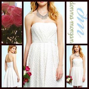Donna Morgan Dresses & Skirts - White DRESS Party Strapless