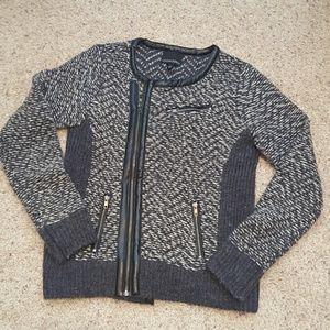 Cynthia Rowley Sweaters - Moto style sweater / cardigan