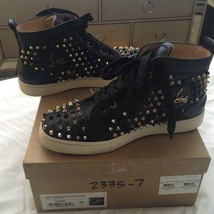 Christian Louboutin sneakers on Poshmark