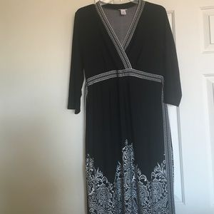 Motherhood maternity dress size large black