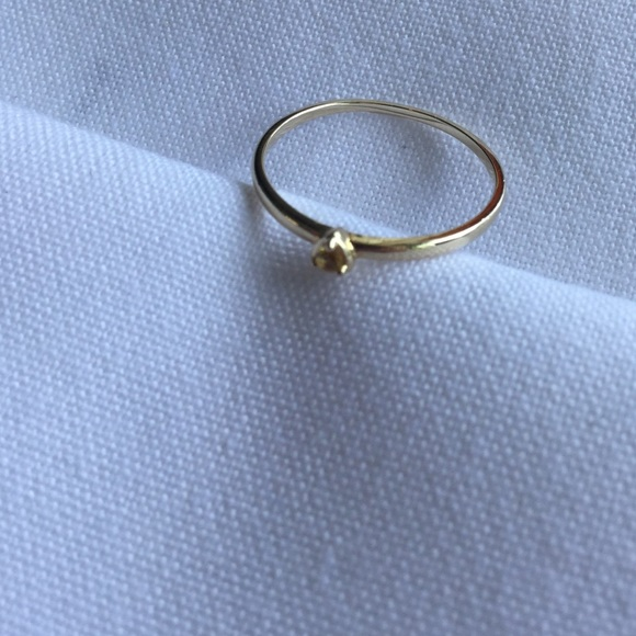 Sterling silver and 14K gold band bridge