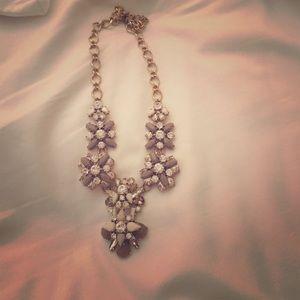 Jcrew crystal bib necklace