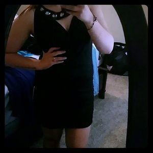 Goddess black dress
