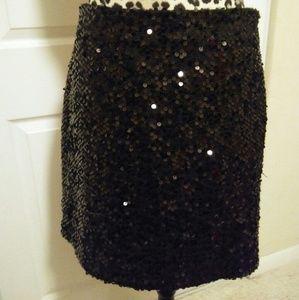 kenar Dresses & Skirts - Kenar black squance skirt  like new